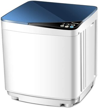 Giantex Full-Automatic Washing Machine Portable Washer and Spin Dryer