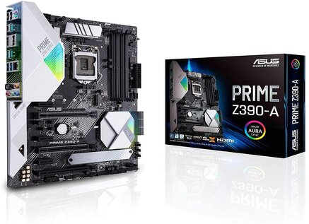 Asus Prime Z390-A Motherboard LGA1151 (Intel 8th And 9th Gen)