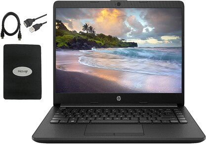HP 14 inch HD Laptop Newest for PowerPoint presentation